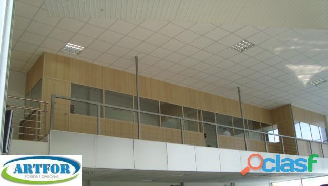 Divisória Eucatex, Tapume Shopping, Divilux, Locação