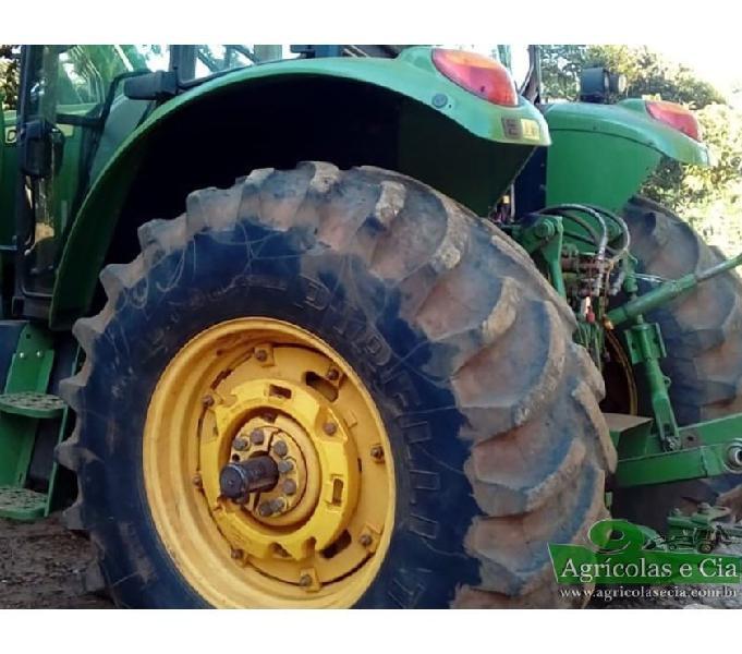 Trator John Deere 6130 J (Power Quad - Único Dono!)