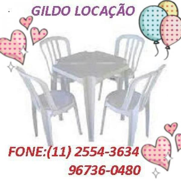 Aluguel de mesas e cadeiras para festas em Guaianases