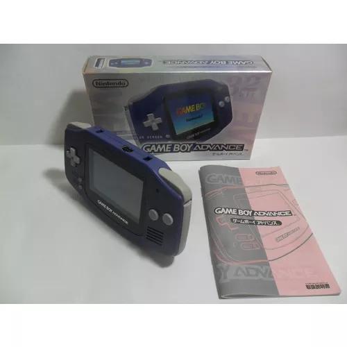 Game Boy Advance - Original Com Caixa E Manual