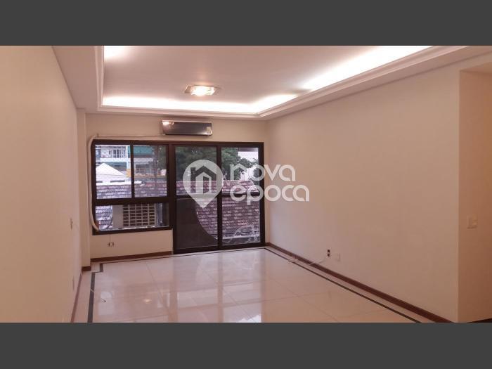 Humaitá, 3 quartos, 2 vagas, 125 m² Rua Desembargador