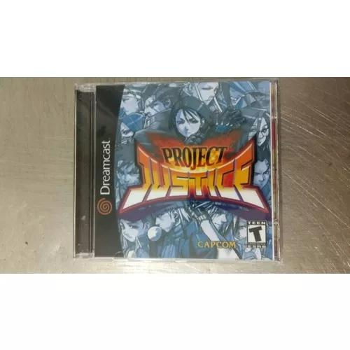 Jogo De Dreamcast -project Justice - Rival School 2 (Patch)