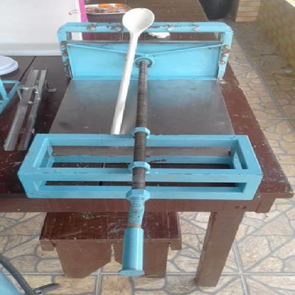 Maquina de fazer sabão em pedra perfeito