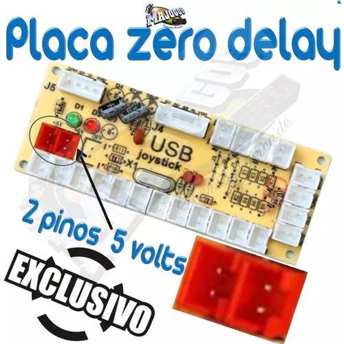 Pla Zero Delay+ Cabos Com Terminais E S