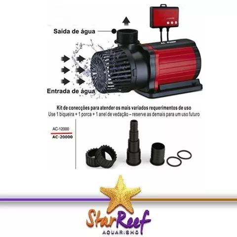 Bomba Submersa Eletrônica Ac 12000 110v Ocean Tech - Pump