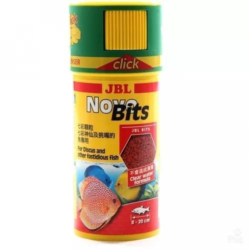 Ração Jbl Novo Bits 110g P Discos E Peixes Tropicais