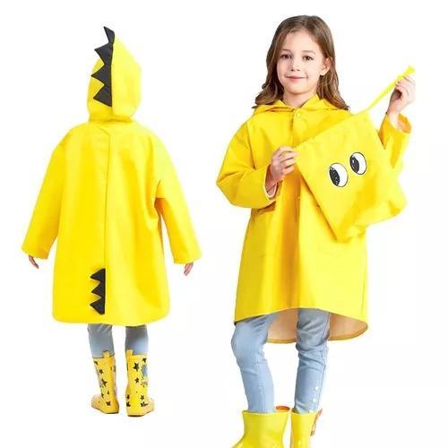 Capa De Chuva Infantil Qualidade Casaco Impermeavel Crianca