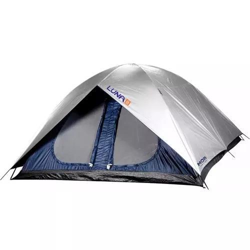 Barraca Camping 8 Pessoas Gigante Iglu Luna Mor Top