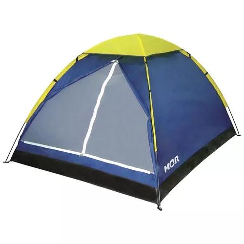 Barraca Camping Iglu 3 Pessoas Mor C/ Bolsa