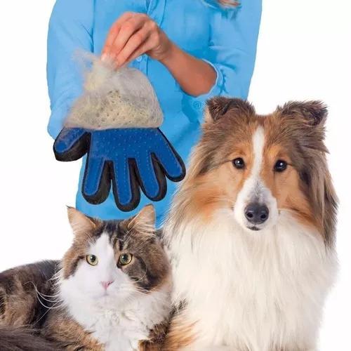 Luva Tira Pelo Cachorro E Gato Ranca Pelo Escova