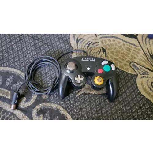 Controle Preto Do Game Cube Original Funciona 100% D2