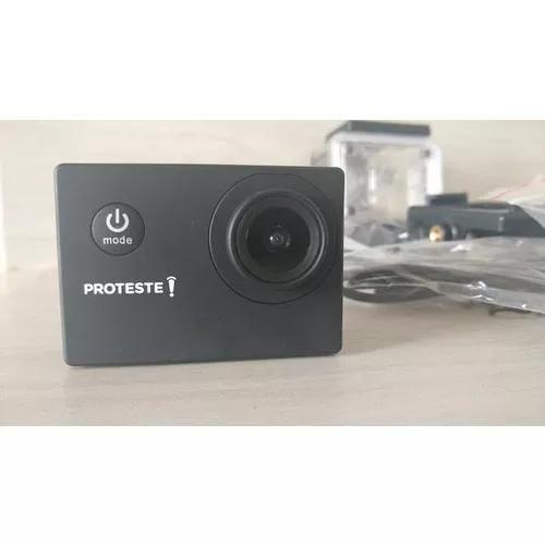 Câmera Proteste Nova, Com Todos Adaptadores, Produto Novo