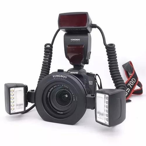 Flash Yongnuo Yn 24ex Ttl Macro Twin - Flash/led Para Canon