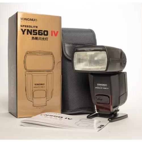 Flash Yongnuo Yn 560 Iv Para Canon Nikon Sony Pronta Entrega