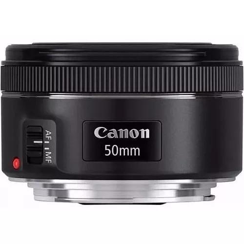 Lente Canon Ef 50mm F/1.8 Stm Fixa Pronta Entrega