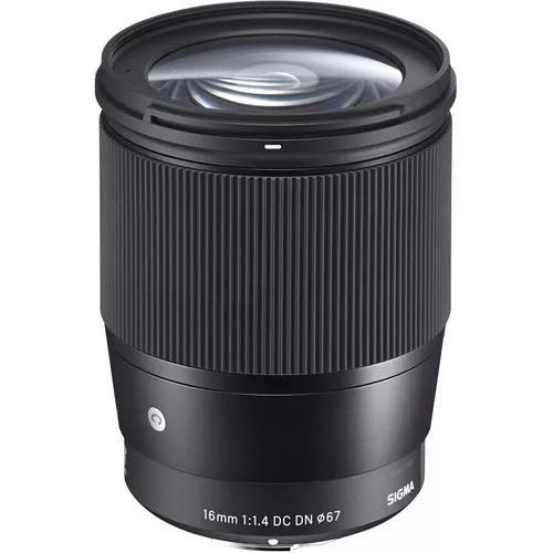 Lente Sigma 16mm F/1.4 Dc Dn Cont
