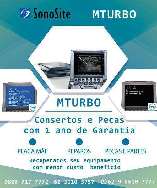 Placa Sonosite Mturbo - Manutenção e Vendas Brasil