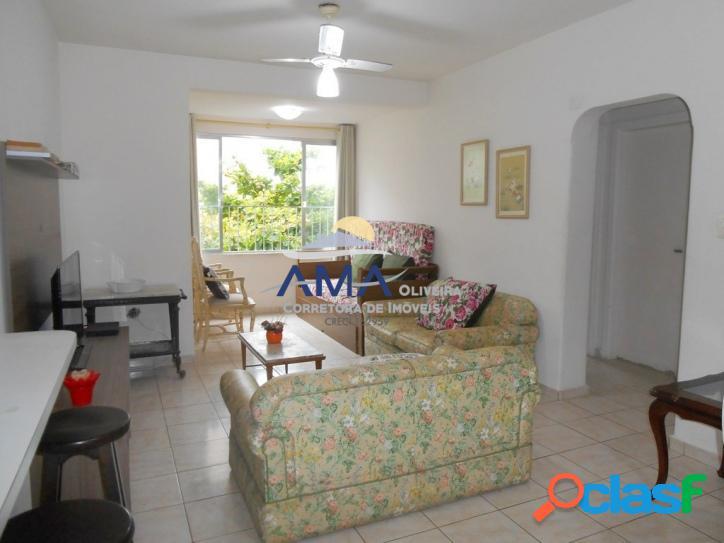 2 dormitórios Pitangueiras, 1 quadra do mar, 1 vaga