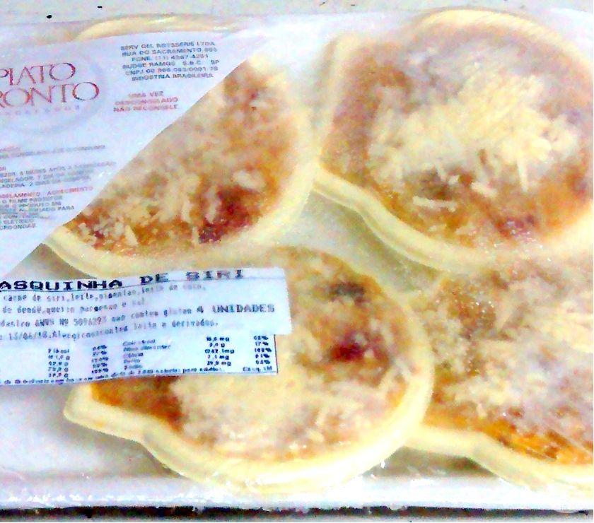 Alimentos congelados (refeições, salgados e mini pizzas)