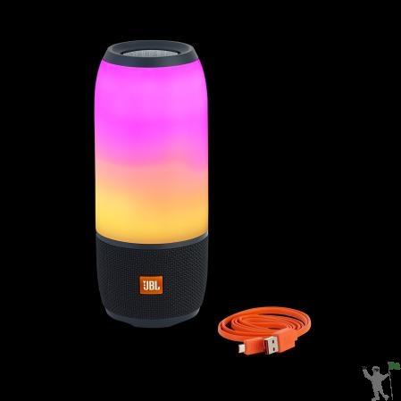 Caixa De Som Jbl Pulse 3 Original Speaker Portátil