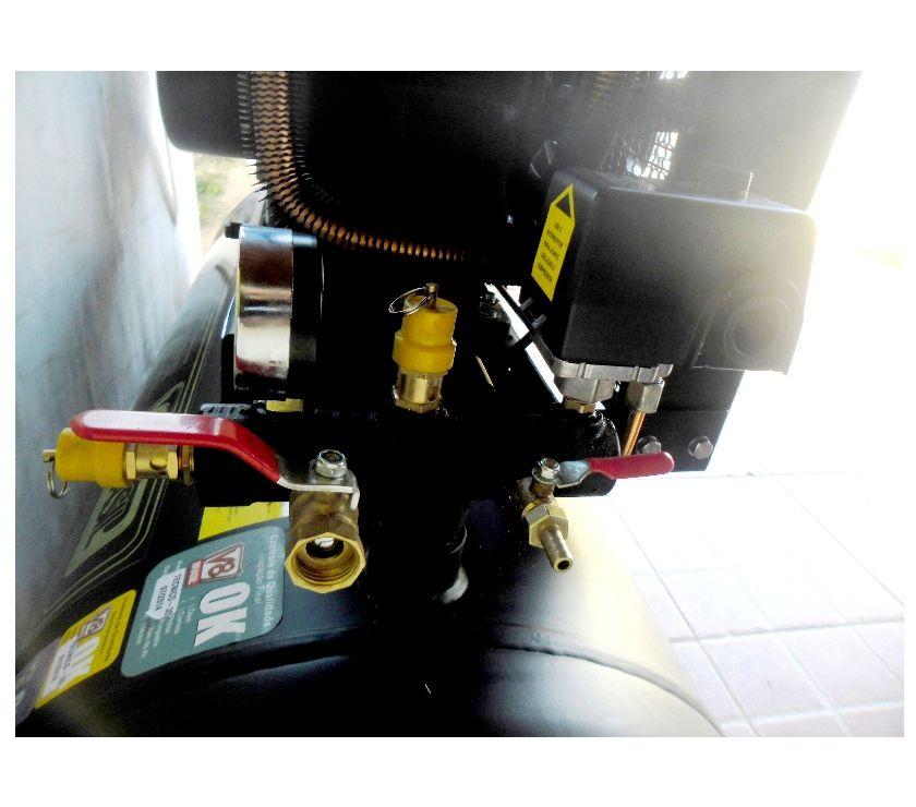 Compressor De Ar Profissional 20 Pés 200 Litros Monofásico