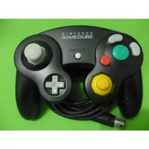 Controle Preto Original Nintendo Game Cube
