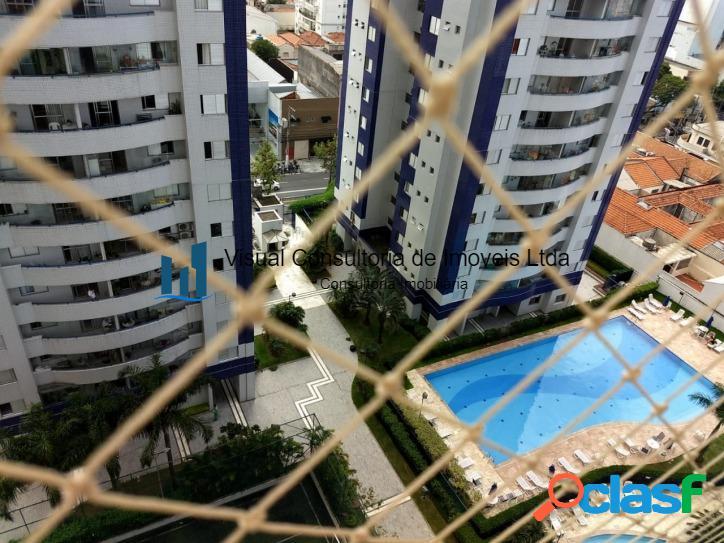 Excelente apartamento na Vila Mariana 3 dts 2 vagas