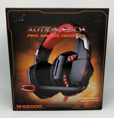 Fone Headset Gaming Led 7.1 Kotion Each G Para Windows e