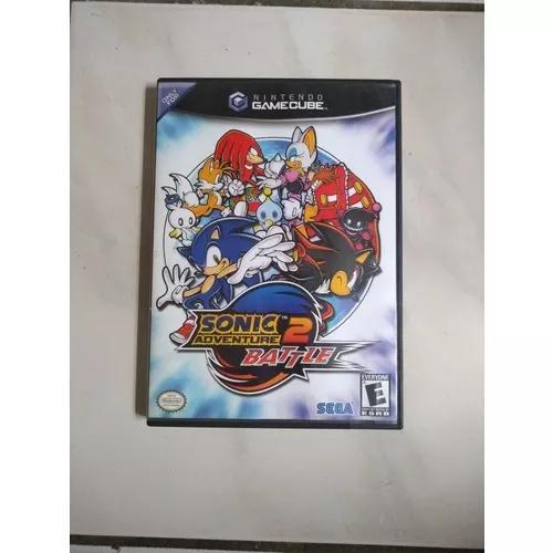 Jogo Sonic Adventure 2 Batle Game Cube