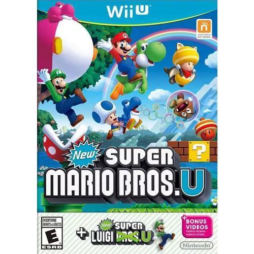 New Super Mario Bros. U + New Super Luigi U - Nintendo Wii U