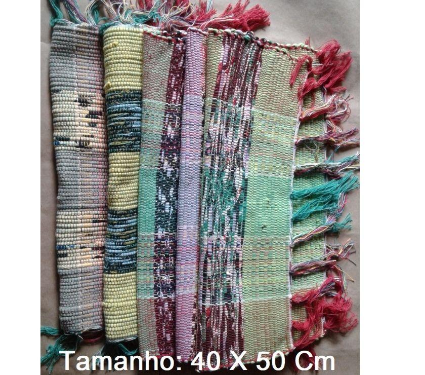 Tapete 40 X 50 Cm kit com 5 peças R$