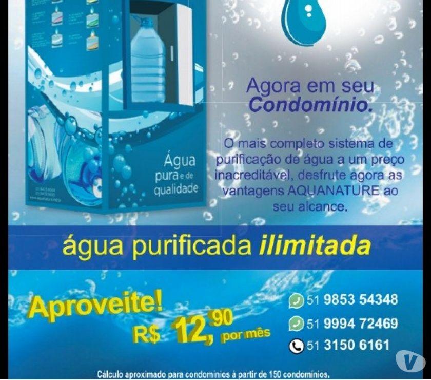 Água pura e barata para sua empresa ou condomínio