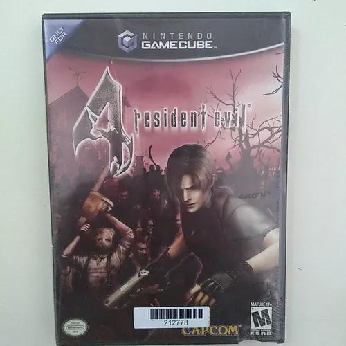 lacrado) Resident Evil 4 Versão Americana - Gamecube