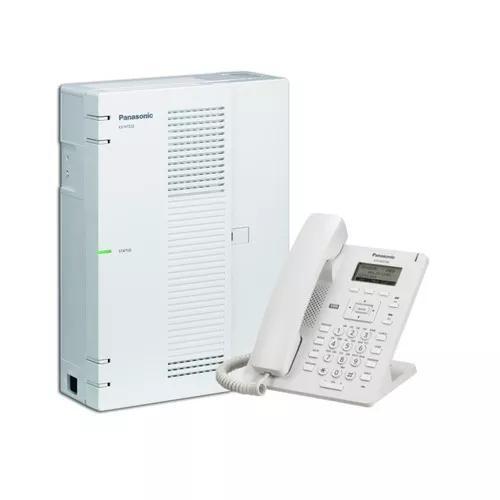 Central Pabx Ip Panasonic Kx Hts32 4 Tr. 8 Ramais + Hdv 100