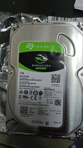 Hd 1 tb seagate barracuda  rpm