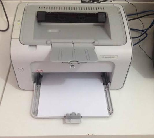 Impressora HP laser com toner