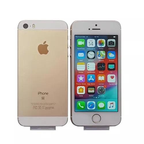 Iphone Se 16gb Original Vitrine + Nota Fiscal Escolha Cor