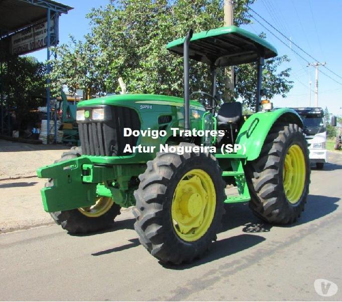 John Deere 5078E 4X4 Ano:2011