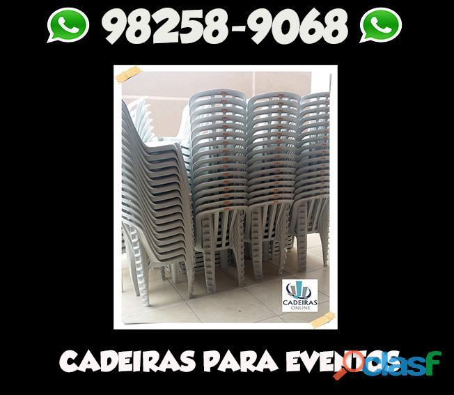 Aluguel de mesas e cadeiras Vila Dalila