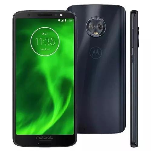 Celular Motorola Moto G6 Câmera Dupla 12mp Leitor