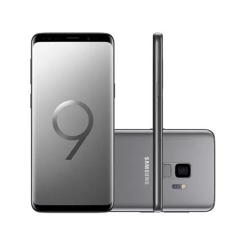 Celular Smartphone Samsung Galaxy S9 128gb Tela 5.8 Cinza