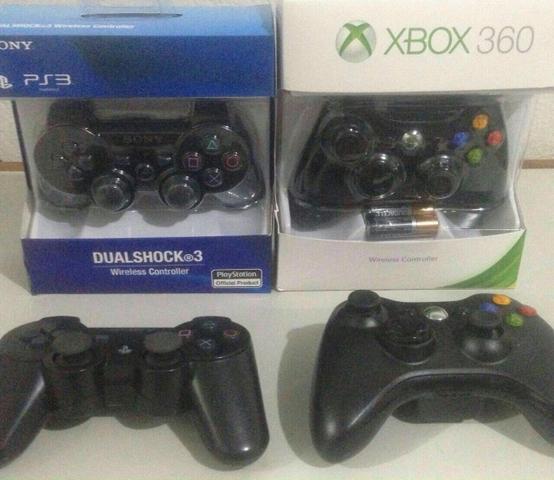 Controle PS3 e Xbox fazemos entregas e aceitamos cartões