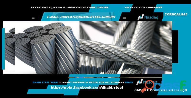 Dhabi Steel Cordoalhas de Aço Trabalhe Conosco