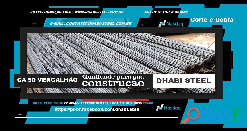 Dhabi Steel Vergalhão de Aço CA50