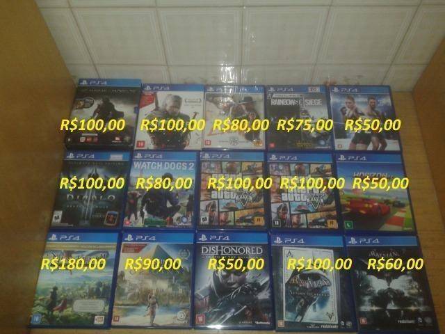 Jogos Playstation 4 Preco Nas Fotos