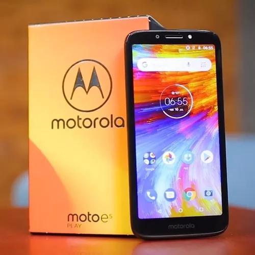 Motorola Moto E5 Play Cam 8m/5mp Quad Core 1.3 16g + Pelic