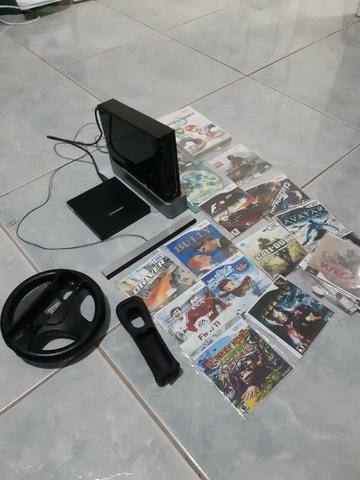 Nintendo Wii com 23 jogos
