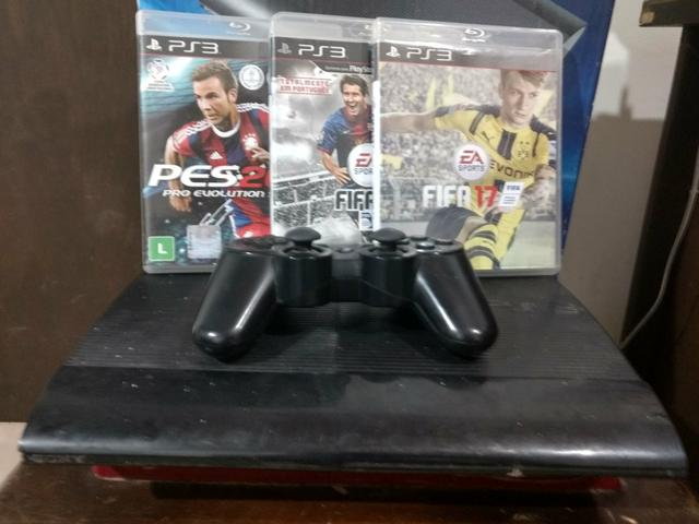 Ps3 super Slim 250gb Troco por Notebook ou iPhone