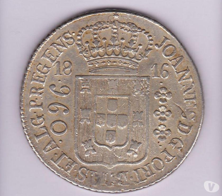 Vende-se 1 kg de moedas antigas prata de  a