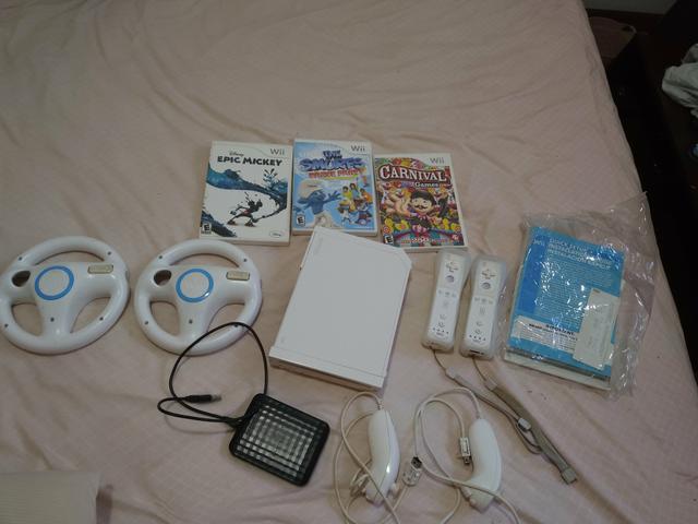 Wii Desbloqueado + HD com varios jogos